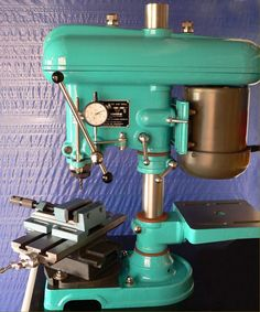 High-quality Britsh made drilling machines by F.Brian sold as the Fobco Star, Fobco Universal, Fonco and Fobco