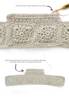 Fabric and Granny Squares Dress – Pattern & Tutorial Fabric and Granny Squares Dress [ FREE Pattern & Tutorial ] Crochet Stitches, Knit Crochet, Crochet Hats, Crochet Girls, Crochet For Kids, Double Crochet, Single Crochet, Tricot Simple, Knitting Patterns