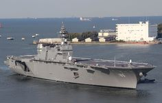 Izumo Japan's Latest Destroyer Sure Looks Like An Aircraft Carrier!