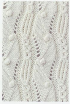 Lace knitting stitches library