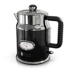Looking for Russell Hobbs Retro Style Electric Kettle, Black & Stainless Steel, ? Check out our picks for the Russell Hobbs Retro Style Electric Kettle, Black & Stainless Steel, from the popular stores - all in one. Russel Hobbs, Specialty Appliances, Small Appliances, Kitchen Appliances, Kitchen Gadgets, Perfect Cup, Black Stainless Steel, Retro Design, Retro Fashion