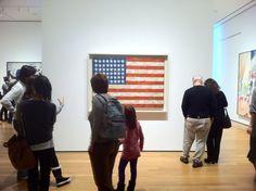 Jasper Johns MoMA NYC