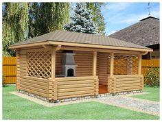 Pergola Ideas For Patio Backyard Gazebo, Backyard Patio Designs, Patio Roof, Pergola Patio, Backyard Landscaping, Pergola Kits, Pergola Ideas, Wooden Summer House, Wooden Gazebo