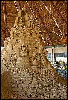 The Sand Sculpture at Artique