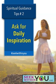 It is important in consciously creating using the Law of Attraction. It is important in giving you a sense of purpose. It is also important in helping to guide you.  One simple way in which you can start developing a relationship with your source is to ask for daily inspiration. #seekwithinyou #spiritualguide #lawofattraction #loa #spirituality