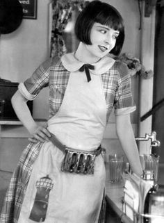 """""""No, please, tell me again why you don't believe in tipping."""" (Colleen Moore)"""