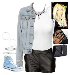 """""""Untitled #828"""" by fatyhnrqz94 ❤ liked on Polyvore featuring Mairi Mcdonald, rag & bone, Converse, Yves Saint Laurent, Blue Nile and Kendra Scott"""