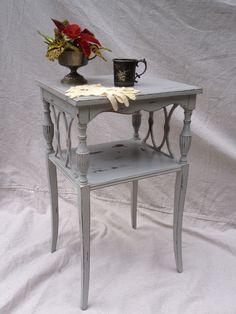 Annie Sloan Paris Grey, just finished! #chalkpaint #paintedfurniture