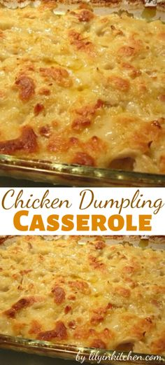 Everyone loves chicken and dumplings. With this Chicken Dumpling Casserole recipe, you can get all that comfort food greatness, without all the muss and fuss, anytime you are wanting it! Easy Casserole Recipes, Casserole Dishes, Casserole Ideas, Potato Casserole, Potato Soup, Baked Potato, Chicken Dumpling Casserole, Chicken Dumplings Easy, Chicken Casserole With Stuffing