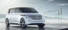VW shows off its quick-charging electric microbus concept