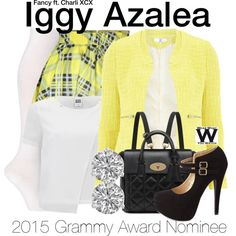 Inspired by Iggy Azalea in her 2014 music video for Fancy featuring Charli XCX. For the 2015 Grammy Awards, Iggy Azalea is nominated for Best New Artist, Best Pop Duo/Group Performance & Record of the Year for Fancy. Fancy Iggy, Iggy Azalea Fancy, 2014 Music, Tv Show Outfits, Charli Xcx, Cosplay Dress, 90s Fashion, Chic, Style Inspiration
