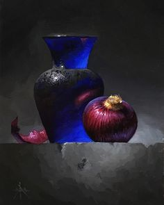 A Study of Colored Glass by Blair Atherholt Oil ~ 8 x 6 Still Life Drawing, Still Life Oil Painting, Still Life Art, Still Life Photography, Art Photography, Glas Art, Fruit Painting, Art Competitions, Southwest Art