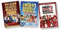 HIGH SCHOOL MUSICAL 1-3 DVD SET - Set includes all 3 DVDs of the High School Musical movies series.