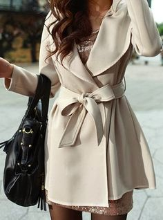 Women's Fashion: Lovely trench coat