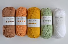 paintbox yarns Archives - This Little Space of Mine Colour Pallete, Colour Schemes, Color Palettes, Crochet Chart, Thread Crochet, Yarn Colors, Colours, Yarn Color Combinations, Crochet Wreath