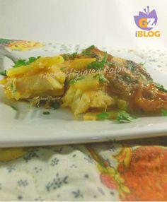 Filetti di baccala con patate e olive - ricettesfiziosedirosaria