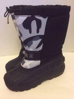 Bogs Boots 2 Big Girls Purple Paisley Neoprene Handles