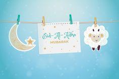 Eid Adha Mubarak, Eid Mubarak Quotes, Eid Al Fitr, Happy Birthday Gif Images, Eid Banner, Eid Al Adha Greetings, Happy Eid Al Adha, Social Media Logos, Vector Free