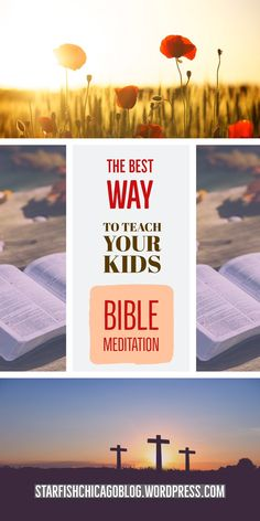 The best way to teach kids Bible meditation