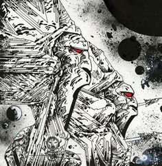 druillet h. Science Fiction Art, Featured Art, Retro Futurism, Artist Gallery, Fantasy Art, Drawing Illustrations, Abstract Artwork, Art, Book Art