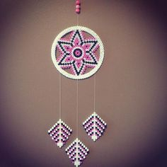Dreamcatcher hama beads by  nkptej