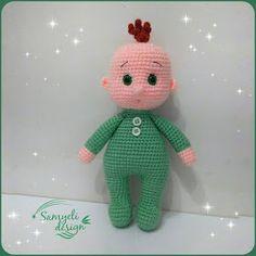 Amigurumi Free Patterns And Tutorials Crochet Snowflake Pattern, Crochet Dolls Free Patterns, Crochet Doll Pattern, Amigurumi Patterns, Amigurumi Doll, Plush Dolls, Baby Patterns, Baby Pop, Crochet Bear