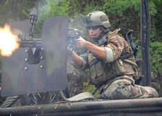 U.S. Navy special warfare combatant-craft (SWCC) boat team... Accuracy through volume of fire