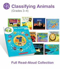 These read-alouds and guidebooks are full of great Common Core connections and fun activities for rich learning experiences.