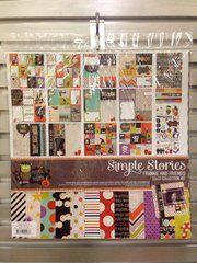 "Scrapbook.com's Gallery - @simplestories - ""Frankie and Friends"""