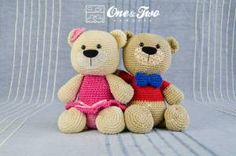 Adorable Teddy Sweet Hugs Pattern One & Two Company created for DW3!!
