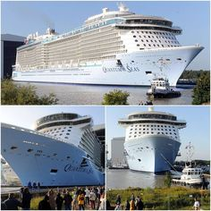 Third largest cruise ship in the world Quantum of the Seas
