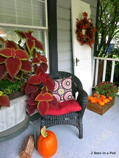 Fall Decor in 5 Easy Steps - 2 Bees in a Pod