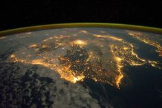 From Barcelona to Mallorca, Almería and the Canarian volcanos – this is how astronauts on the International Space Station see the country