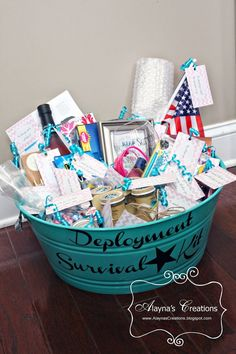 Alayna's Creations: Deployment Survival Kit Boyfriend Survival Kit, Survival Kit Gifts, Survival Supplies