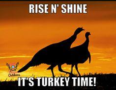 Good luck to everyone who is Turkey huntin'! #GalsatFullDrawOutdoors