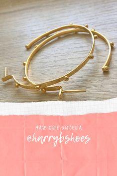 Elaboradas a mano con amor Hoop Earrings, Bracelets, Gold, Jewelry, Amor, Make It Happen, Women, Jewlery, Jewerly