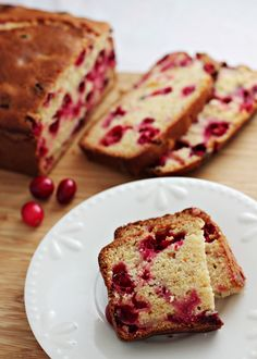This cranberry orange bread is quick and easy to whip up and extremely portable—perfect for the holidays!