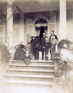 Família imperial em 1887, foto de Otto Hees - Família imperial brasileira – Wikipédia, a enciclopédia livre