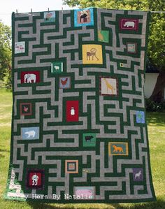 You will love this a-MAZEing Quilt! - Emmaline Bags and Patterns