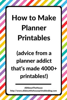 how to make planner printables daily planner photoshop graphic design tutorial diy planner insert