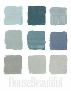 Gray Paint Colors Interior Designers Swear By 26 designers pick their favorite grays. Some fantastic colors like Farrow and Ball claydon blue 8726 designers pick their favorite grays. Some fantastic colors like Farrow and Ball claydon blue 87 Grey Paint Colors, Interior Paint Colors, Paint Colors For Home, Wall Colors, House Colors, Gray Paint, Neutral Paint, Gray Interior, Accent Colors