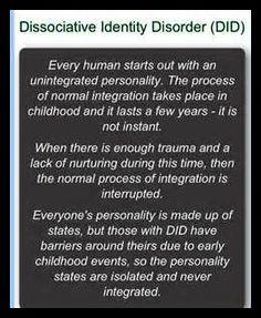 Personality Disorder, Bingo, Trauma, Disorders, Identity, School, Personal Identity