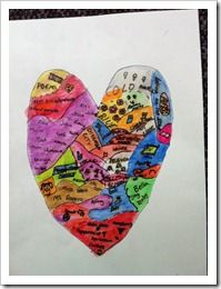 Heart Map- things that are special to you. Use in Writer's Workshop when discussing things to write about. Heart Map, My Heart, Character Education, Art Education, Walk Two Moons, 2 Moons, Moon Projects, Art Projects, First Grade Parade