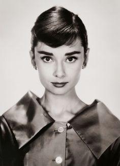 Audrey Hepburn photographed by Bud Fraker, c. 1957
