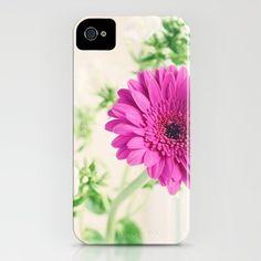 'Gerberas and Phlox' iPhone Case by Melissa Contreras.