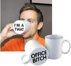April Fools Pranks - steal the principal's favorite cup...