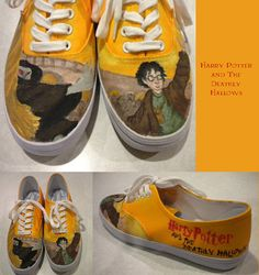 Harry Potter shoes https://www.etsy.com/listing/100968125/custom-harry-potter-shoes