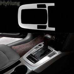 Car Styling Center Console Gear Box Frame Cover Sticker For Audi 2009 2010 2011 2012 2013 2014 2015 Stainless Steel Price history. Interior Wood Stain, Interior Paint, Audi A5, Center Console, Box Frames, Best Interior, Interior Accessories, Coding, Stainless Steel