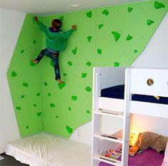 Klatretak til barn, lek og læring, fra for 10 stk Toddler Climbing Wall, Indoor Climbing Wall, Kids Climbing, Toddler Rooms, Toddler Bed, Bedroom Wall, Kids Bedroom, Chill Out Room, Diy Furniture Hacks