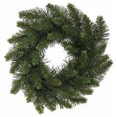 """12"""" Camdon Fir Artificial Christmas Wreath - Unlit"""